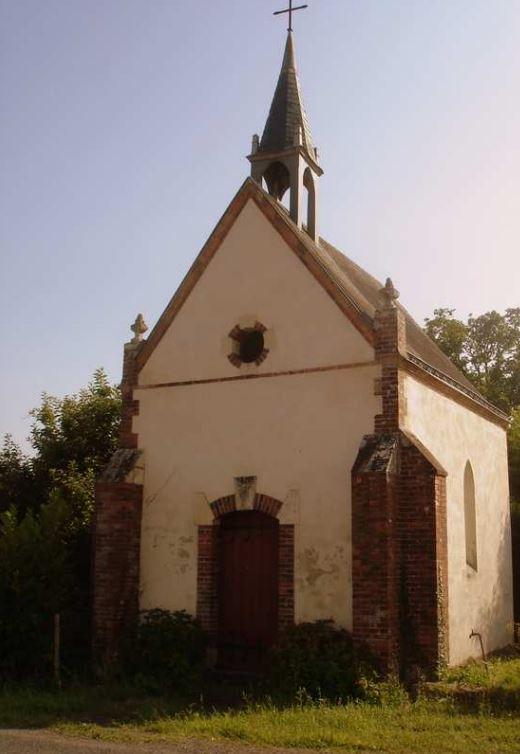 La chapelle Sainte-Anne (1820) située à La Bauche
